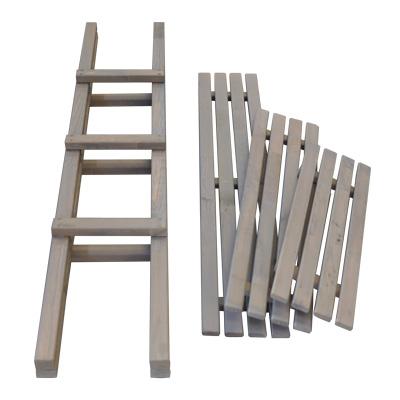 ウッド棚はしご ばら